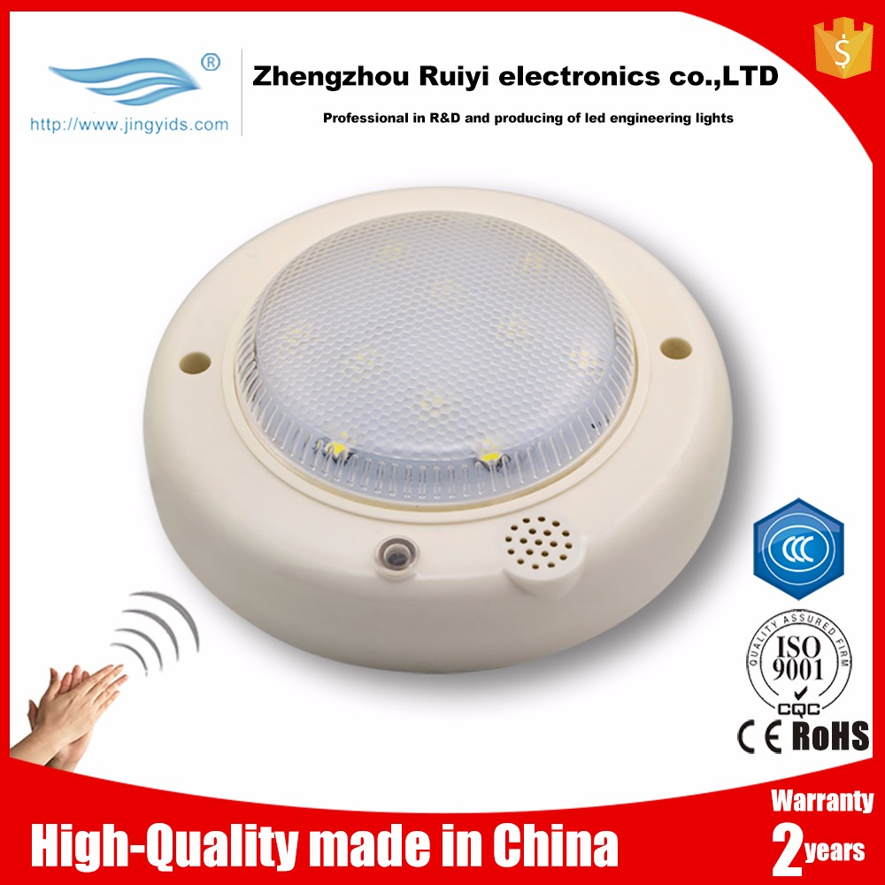 Smart LED Lighting voice activated lamp 3W sound sensor control light wholesale price
