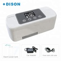 portable refrigerator for insulin/3 power supplies/keep insulin safe in 30 days/LCD temp.display/thermoelectric cooling no freon