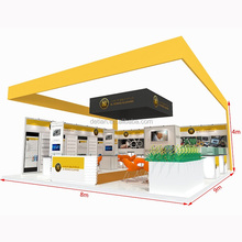 Detian Offer tension fabric display exhibition display stand exhibition booth portable