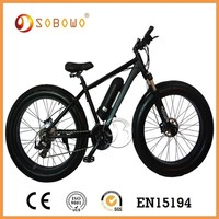 ECO Riding electric trail bike with Al Alloy frame