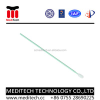 Factory Direct Sales long PP handle Cleanroom Dacron Tip swab PS761 for Precise Industry