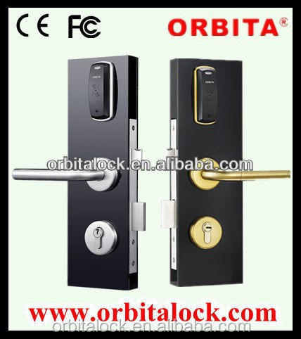 Security digital keypad card key home door lock