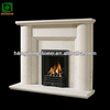 Hand Carved Marble Simple Fireplace Mantel