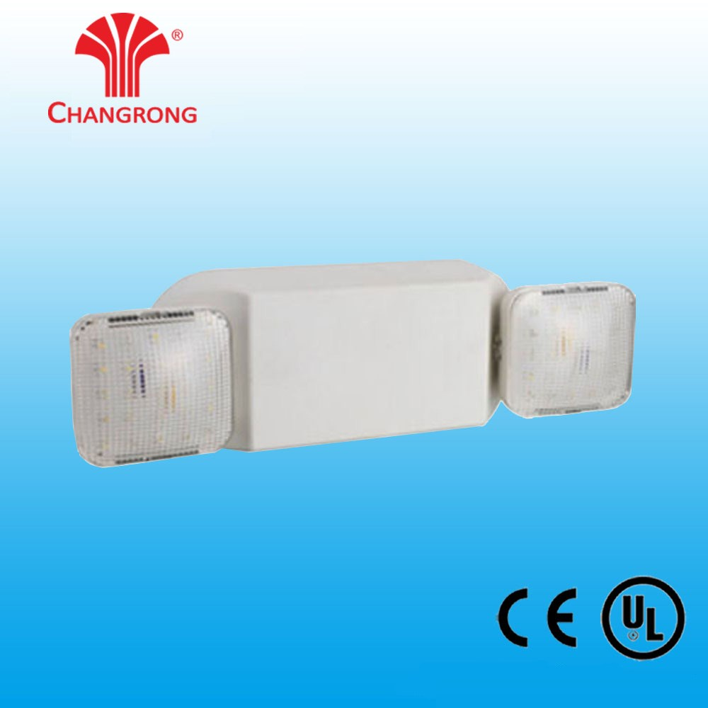 New Products Wall Mounted Non-Maintained Twin Spot Emergency Light