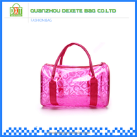 Wholesale PVC material imported handbags china