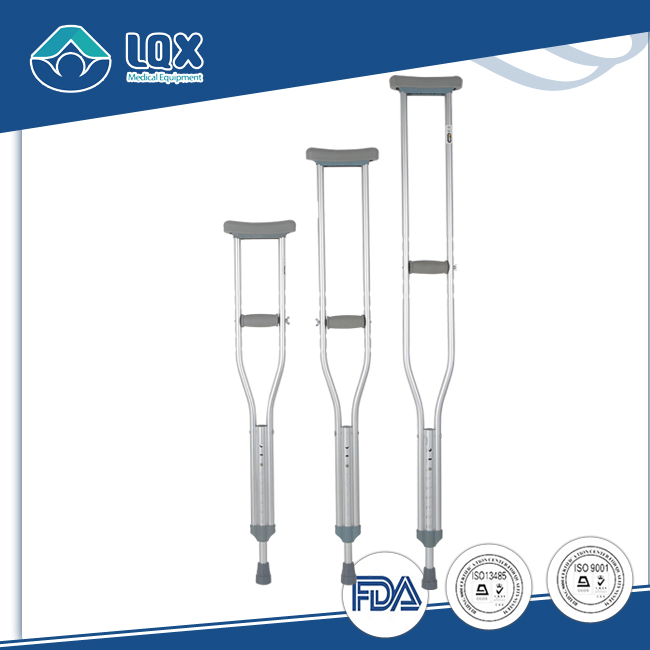 Aluminium Light Weight Forearm Crutch Single Under Arm Crutches And Stick Walking For Sale