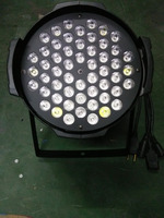 LED Par Zoom Stage Light 54pcs 3w RGBW High Lumen Output LED Par 64 Light Par Can Light Price