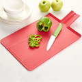 Small Chopping Board with Integrated Strainer