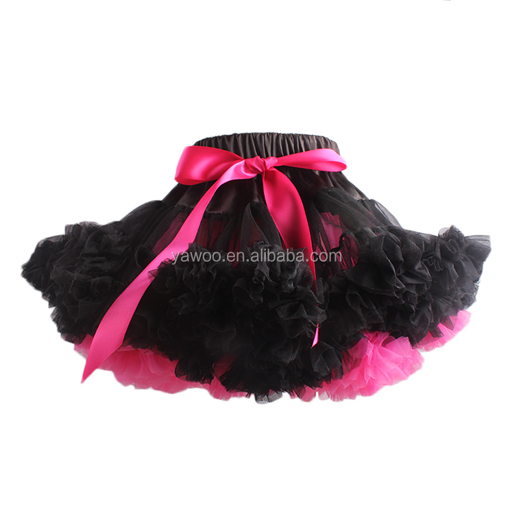 2016 yawoo wholesale designs kids boutique fluffy tutu pettiskirt puffy tulle skirt
