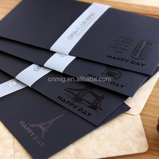Hot sale custom students writing letter paper envelope