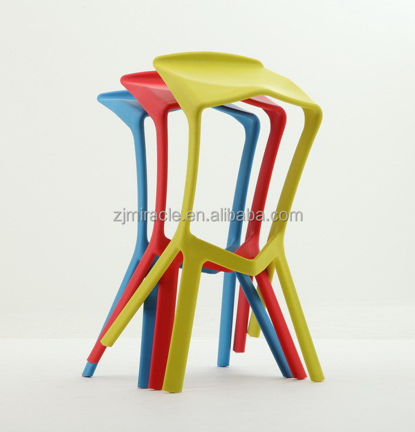 Customized Crazy Selling pvc bar stools chair