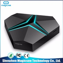 Latest New Model China Supplier hdd karaoke player dvb t2 smart with av output android tv box
