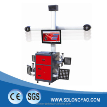 LX-F9 3D wheel alignment for car tyre repairment workshop