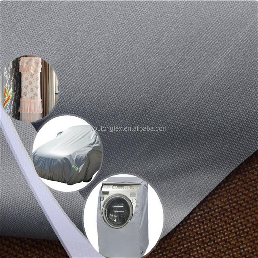 black-out silver shade cloth car cover outdoor oxford fabric