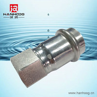 Stainless steel female thread sleeve type coupling