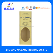 Essential Oil Body Wash Cardboard Packaging Box for Baby Care