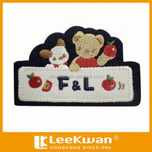 Cartoon Bears Applique Embroidery Patch For Garment Decoration