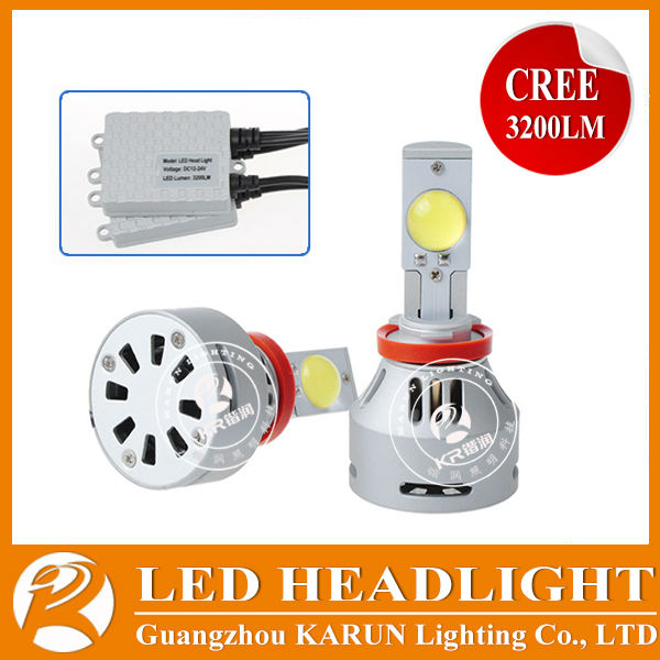2 years warranty 12v LED Headlight accesorios para for honda accord