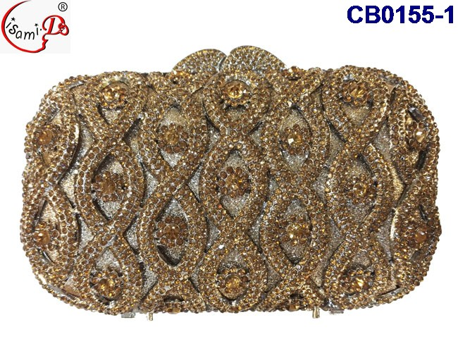 Newest Clutch 2016 Fashion Wedding party Clutch beautiful Design Ladies Bridal Clutch bags