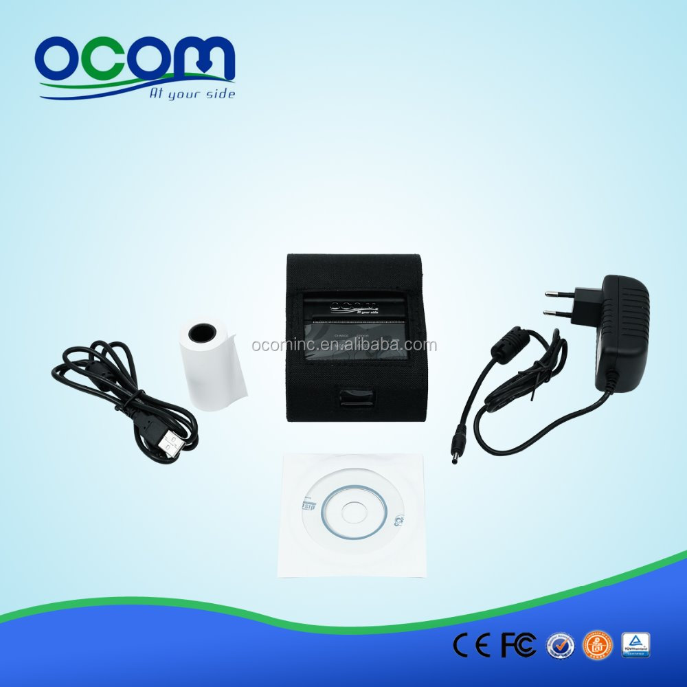 OCPP-M03 Battery Powered Bluetooth Mobile Android Mini Portable Printer