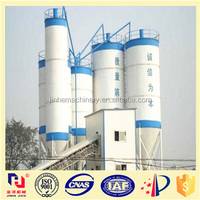 Hot sale automatic ready HZS50 concrete mixing plant