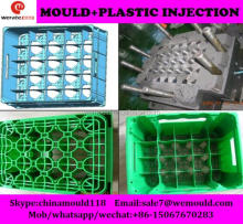 plastic injection beer crate mold