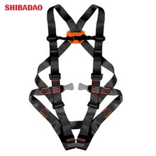 Outdoor 800KG Climbing harnesses <strong>Safety</strong> Rappelling Belt Mountaineering Harnesses rock Seat Sitting Bust Protective Belts