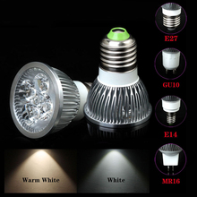 Energy Saving 5W E27/E14/GU10/MR16 LED Spotlight Bulb Lamp White/Warm White 5X1W