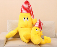 2015 Wholesale top quality lovely banana plush toys for cheap