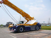 Kato used Rough Terrain Crane 65 ton, low price but high quality
