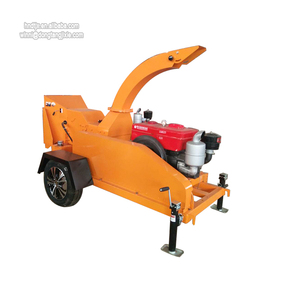 2tons per hour firewood processor wood chipper shredder with 360 degree exhaust chute