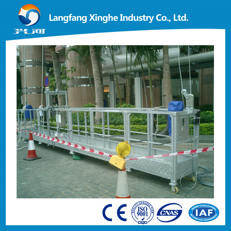 construction cradle/gondola lift/ suspended working platform for sale swing stage