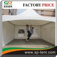 3x3 outdoor aluminum frame stand up tensile tent for party/event with family in hot sale