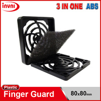 3 in One ABS Plastic Filter Best Quality Fan Guard 80mm 80x80 mm (BB-1 8CM)