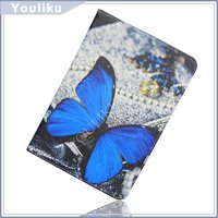 fashion butterfly tablet tp[u bumpers draw colored case for ipad mini tablet in stock