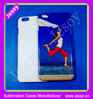 JESOY Wholesale Hard Plastic Printed Cover, 3D Sublimation Blank Cell Mobile Phone Case For iPhone Samsung Huawei LG Moto