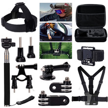 Accessories Kit/Case/Floating Hand Grip 30 in 1 Pack for Gopros Heros ADK-KIT12