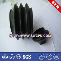 Customized small silicone rubber bellows