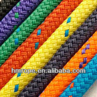 polyester cord/polyester double braided rope