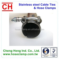 T bolt Heavy Duty Hose Clamp for Muffler clamp, Exhaust clamps