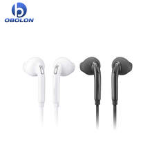 Wired headset mobile earphone for Samsung S6 edge/S6 gaming headset with Mic Stereo Bass