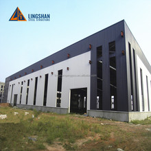 prefabricated steel structure building shopping mall / supermarket