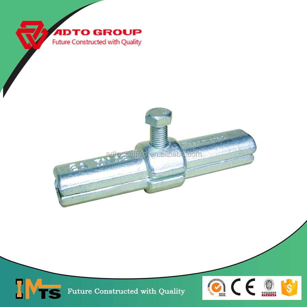 Electro-galvanized drop forged inner joint pin for scaffolding system