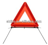 Safety Triangle Warning Reflector Kit Street Hazard Sign Road Highway Freeway