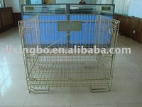 European style storage rack wire container