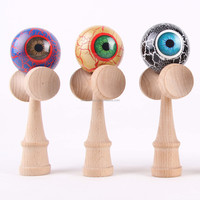 Kendama glow in the dark with eye design for wholesale