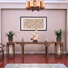 Chinese Style Solid Wood Home Furniture Antique Hand Carved Altar Table Design