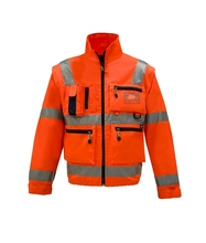 multi-pockets high visbility EN 20471 rescue jacket Blood penetration test