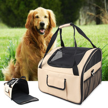 2017 New Design comfy 600D Oxford Outdoor dog carrier bag Pet Travel Bag