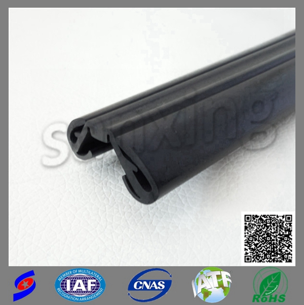 flexible car glass rubber seal strip
